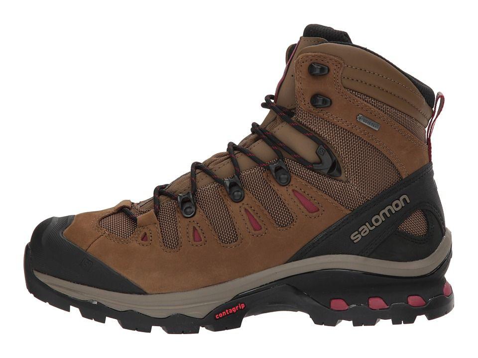 Salomon Quest 4D 3 GTX(r) Women's Shoes TeakTeakTibetan Red