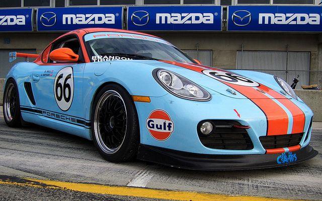 Gulf Porsche Cayman