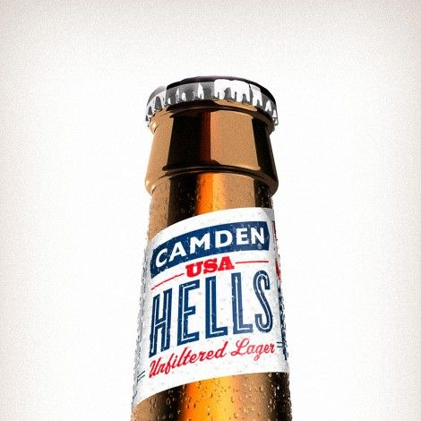 Camden Town Brewery Illustration (Design: The Tenfold Collection)