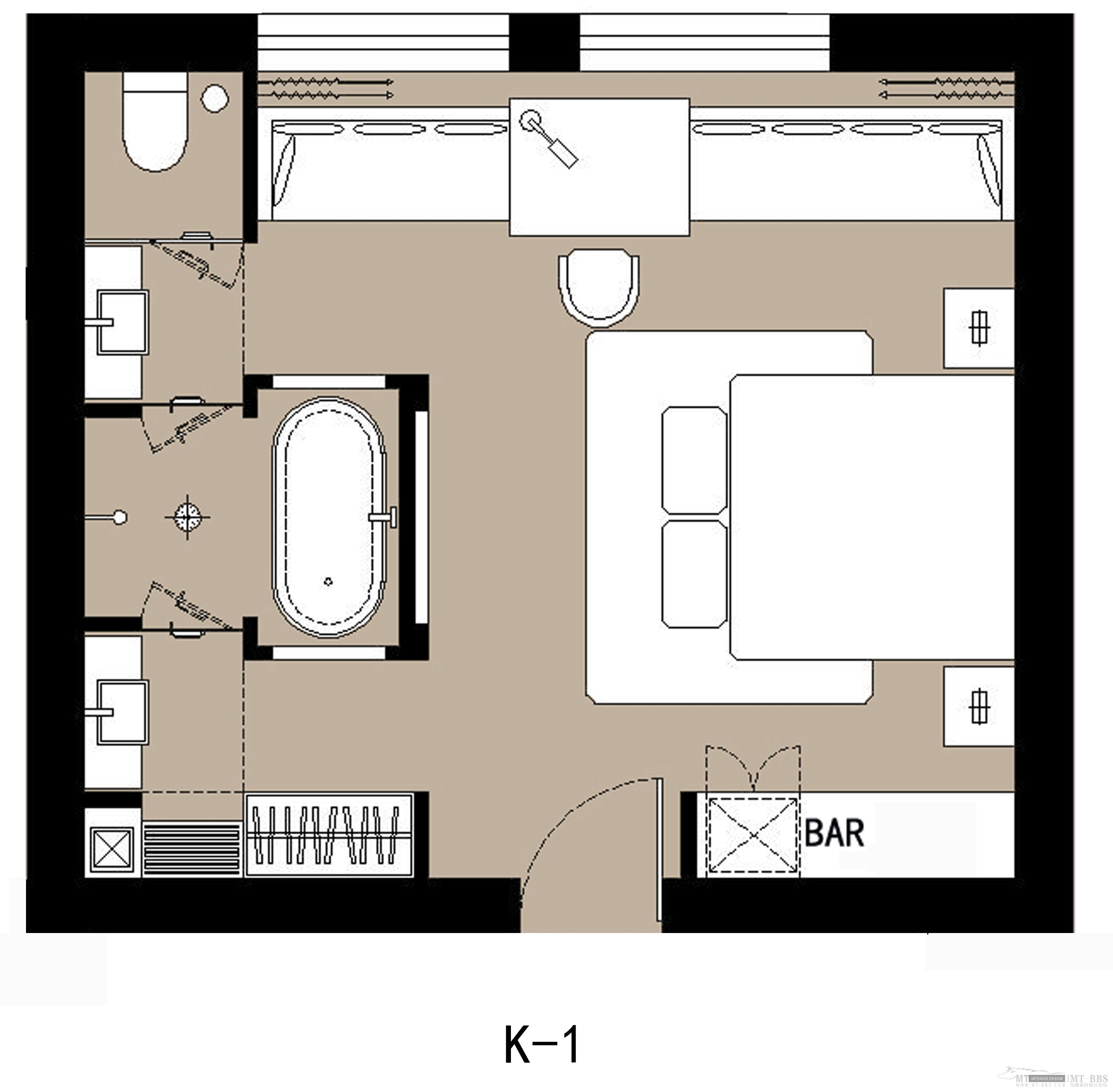 Typical Hotel Room Floor Plan Click Here For The Resort