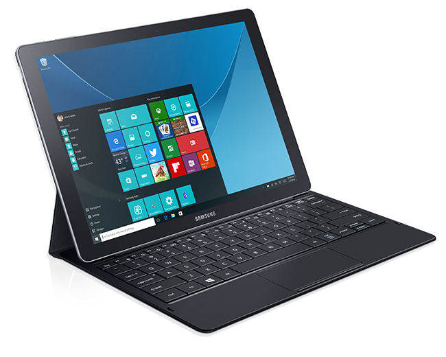 Samsung Galaxy Tab Pro S 2 In 1 Tablet With Windows 10 In Ces 2016 Samsung Tablet