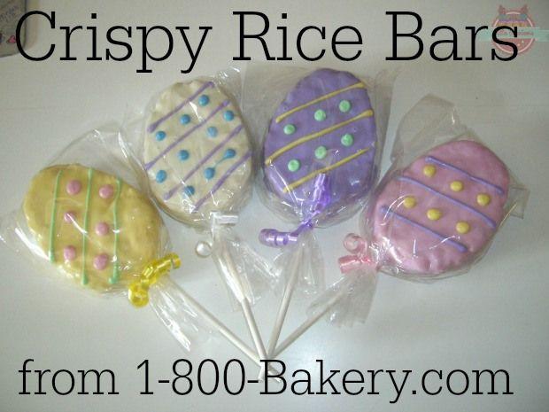 Crispy Rice Bars from 1-800-Bakery.com
