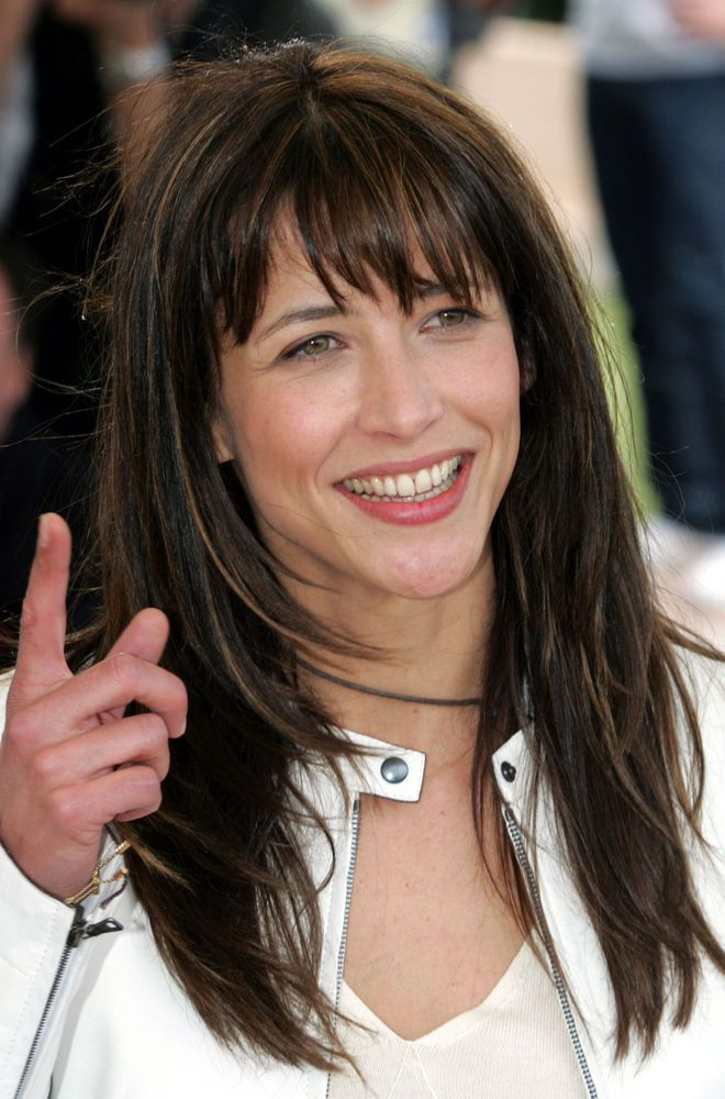 10 Short Hairstyles For Women Over 50 Sophie marceau