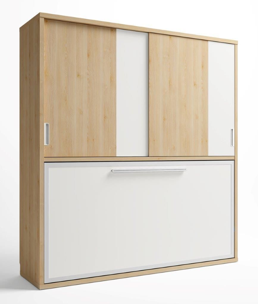 Conforama 759 dormitorios pinterest camas abatibles - Puertas correderas abatibles ...