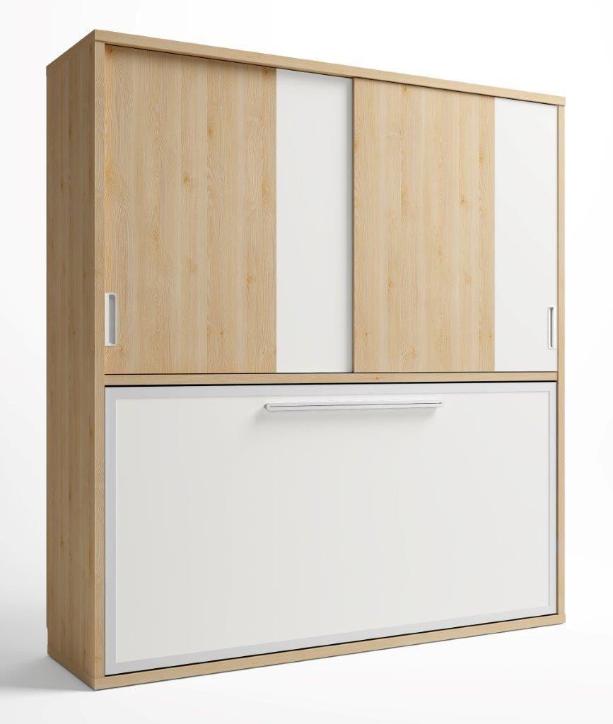 Conforama 759 dormitorios pinterest camas abatibles for Mueble cama plegable conforama
