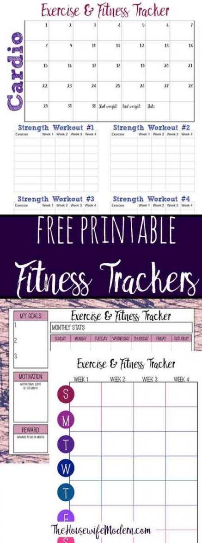 62+ trendy fitness journal printable track #fitness