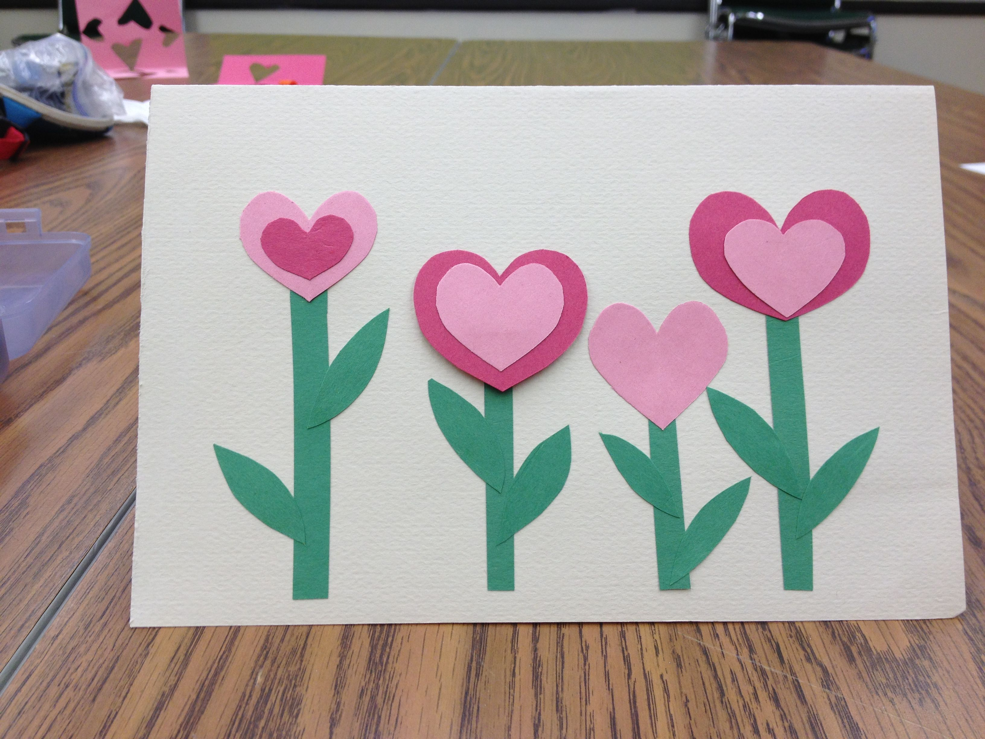 spring card idea quick and simple card great project for