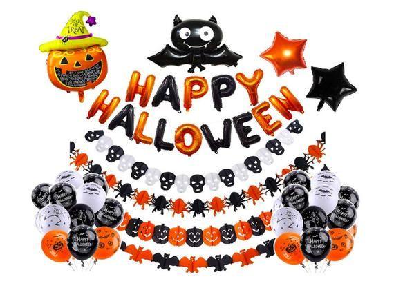 Halloween Balloons Halloween Party Supplies Halloween Balloons