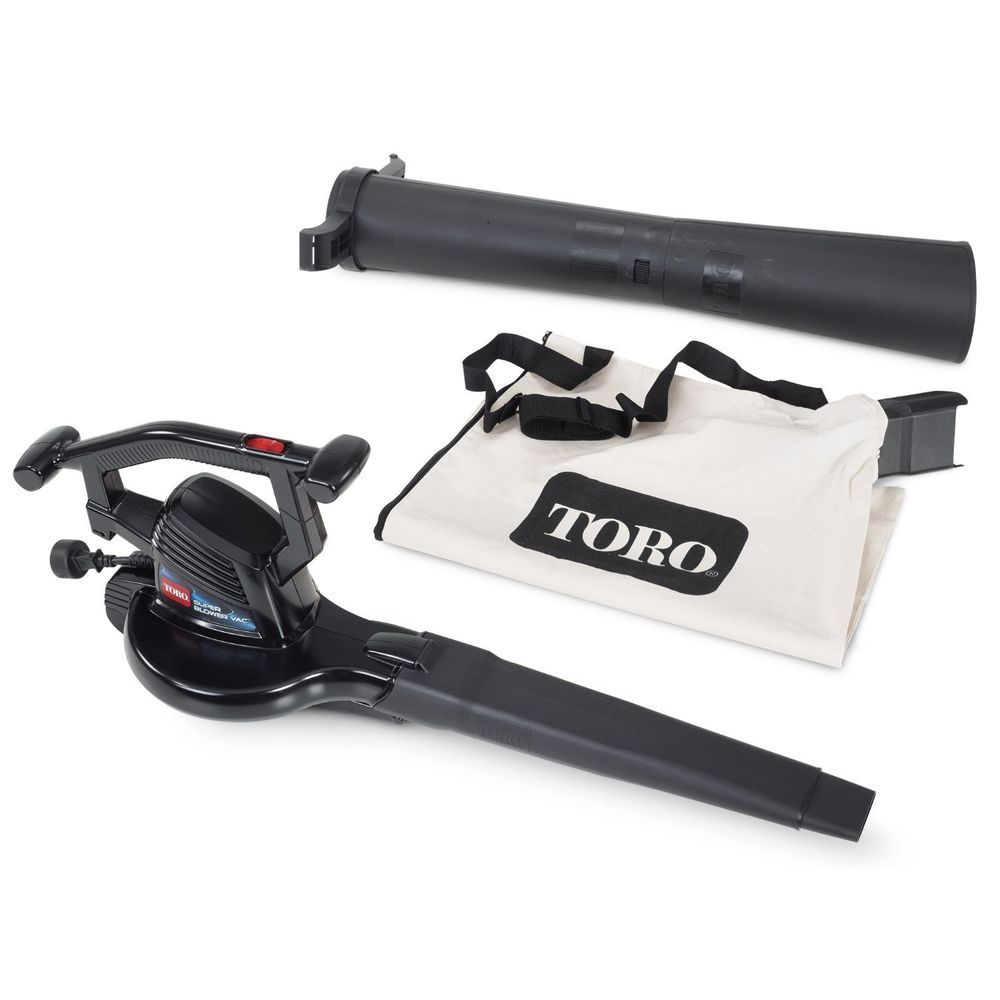 Toro 51618 Super Leaf Blower 230 Vac,  mph electric blower