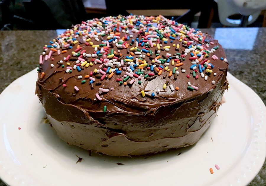 How to make portillos chocolate cake at home with images