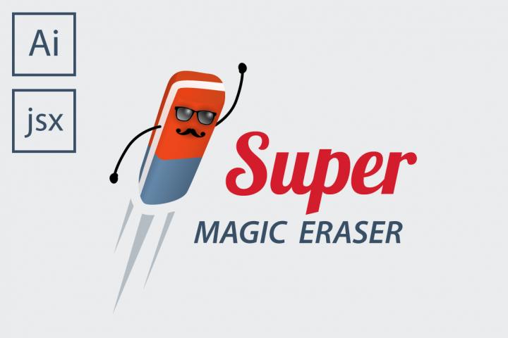 Super Magic Eraser Illustrator Script 425810 Plugins Design Bundles Magic Eraser Create Clipping Mask Photoshop Plugins