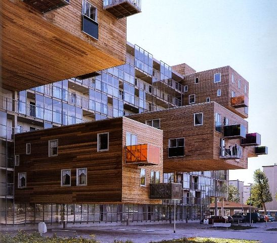 META MAGAZINE | archicake daily - 多出來的13戶 荷蘭WoZoCo老年公寓懸挑設計