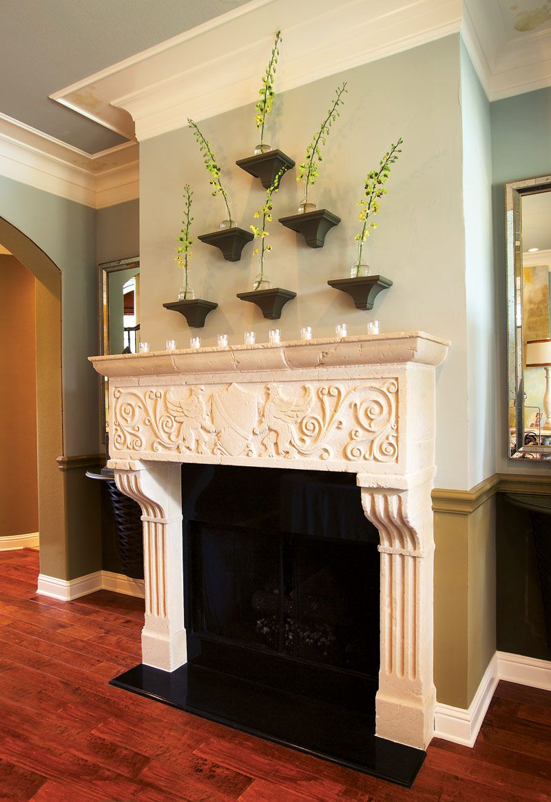 The Verona Fireplace Mantel Is Only Available In A 42 X 44 1 2