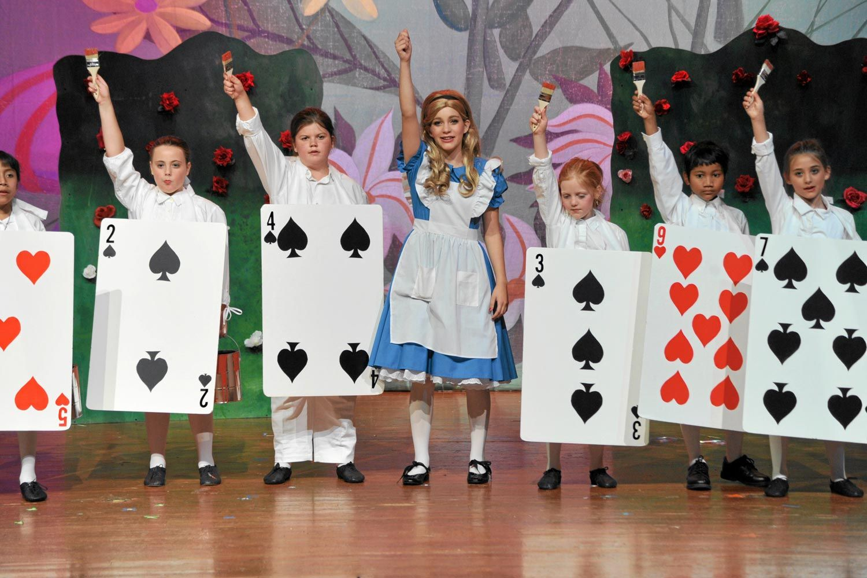 Card Costume Alice Wonderland