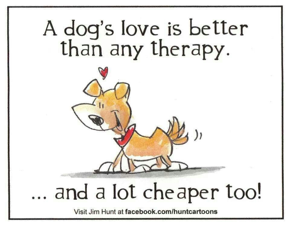 A dogs love is better then therapy dog quote | My life | Dog
