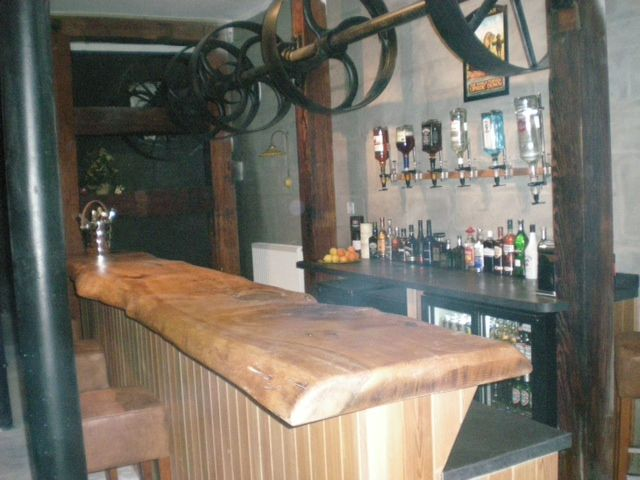 Bespoke Cedar Bar Top