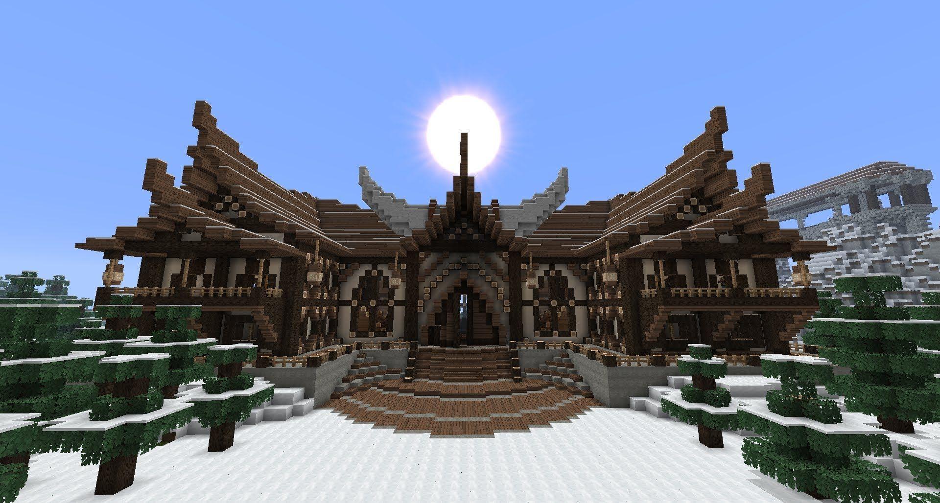 Viking Style Minecraft House Minecraft In Pinterest - Minecraft wikinger hauser