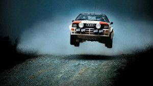 Epic Rally Car Jump   Sport Car Wallpaper