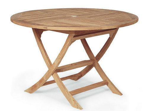 Round Wooden Folding Table | Round Table Ideas | Pinterest | Folding ...