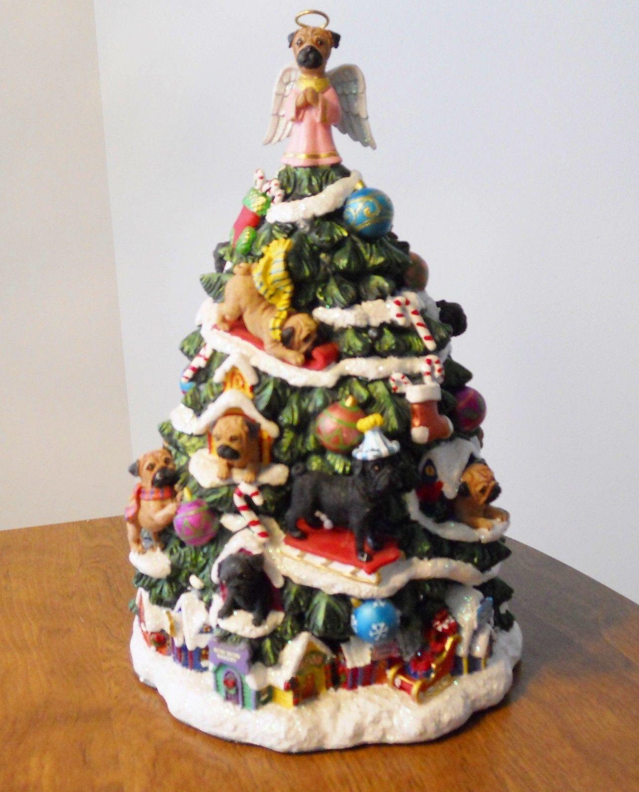 Pug Ceramic Christmas Tree   a Ƥʋɢɢʏ Cняιƨтмαƨ   Pinterest ...