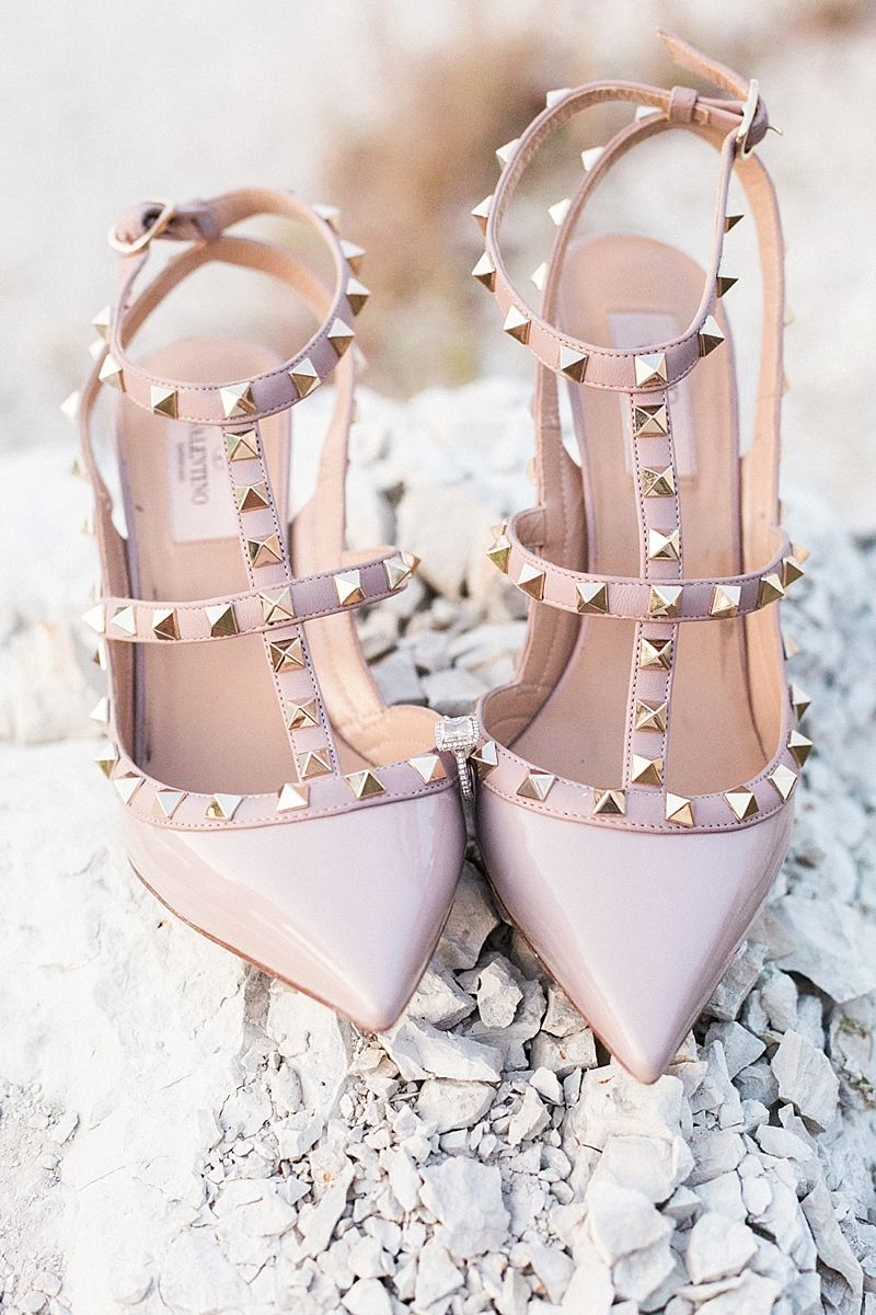 Dfw Film Wedding Photographer Pink Wedding Shoes Designer