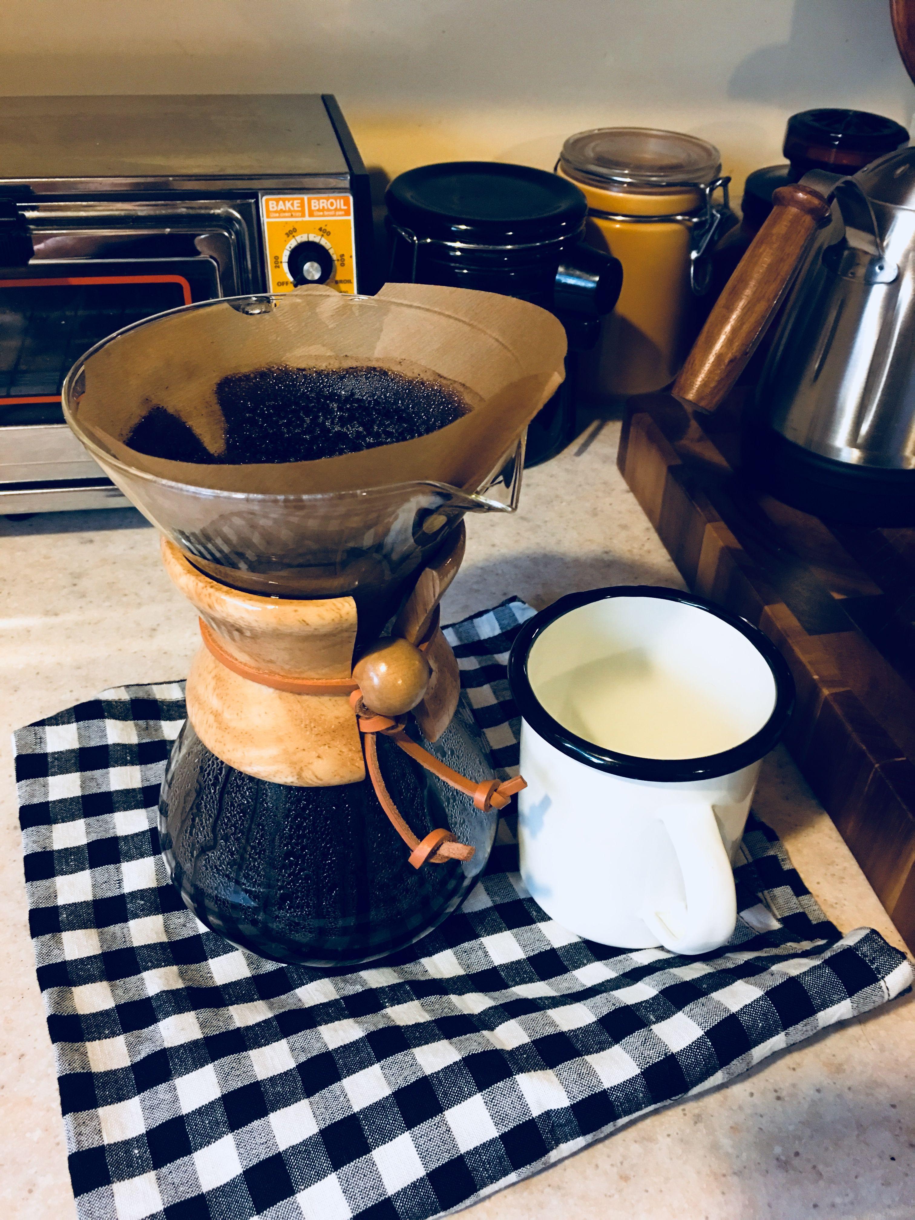 Coffeeenamelmugchemex coffee recipes chemex coffee