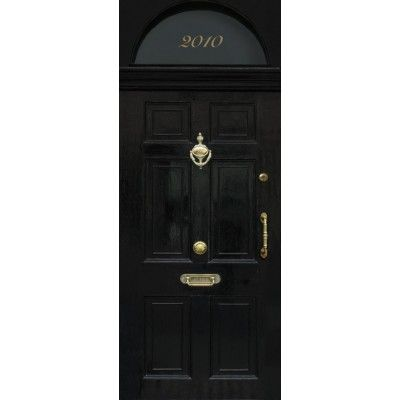 Sticker trompe l 39 oeil de porte london get the london look door wallpaper in trompe l 39 oeil - Sticker exterieur trompe l oeil ...