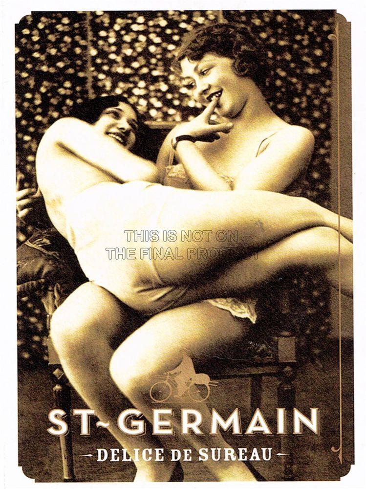 VINTAGE ADVERT ALCOHOL LIQUEUR ST GERMAIN DELICE FINE ART PRINT POSTER CC4667