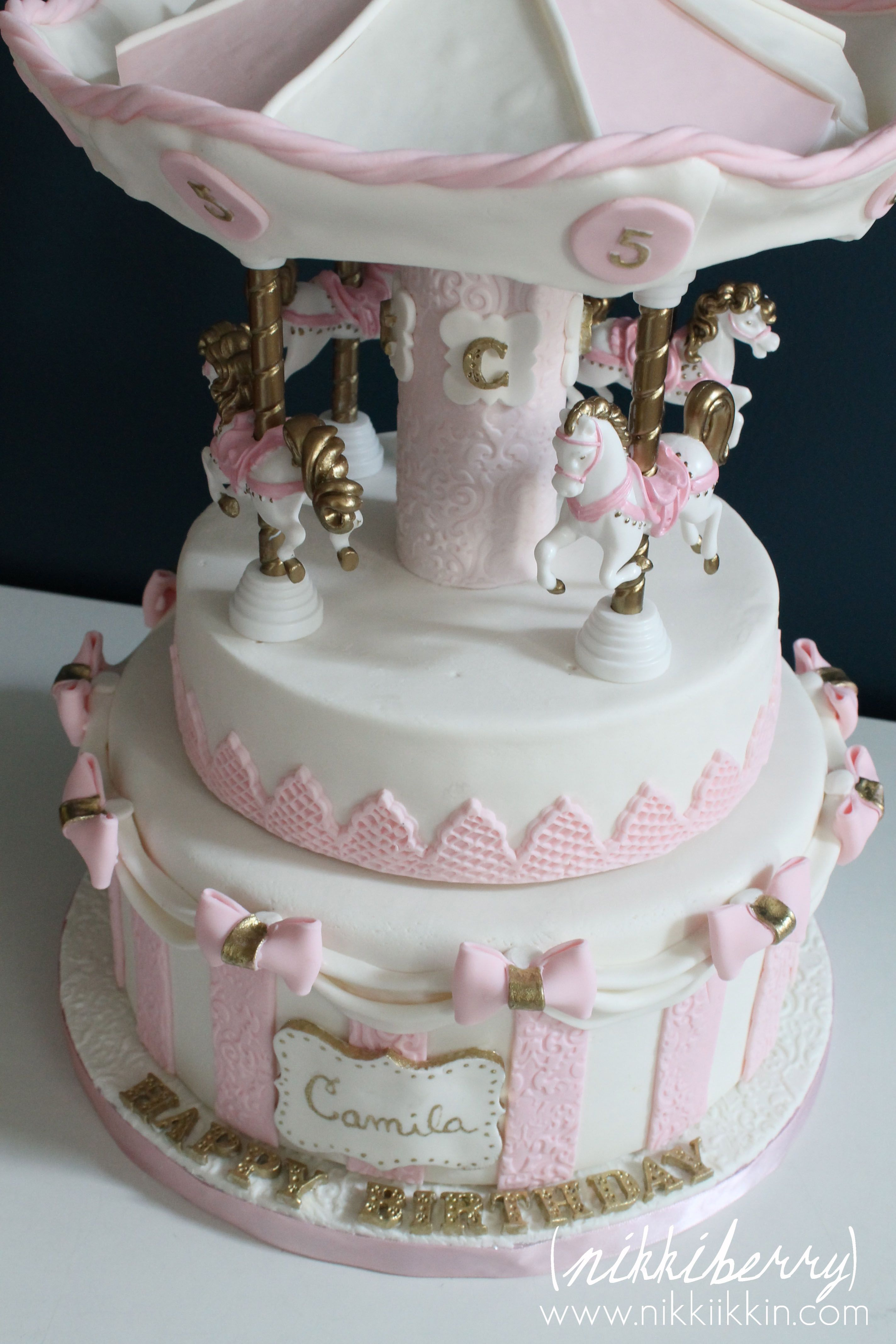 Carousel Cake Mary Poppins Party Pinterest Carousel