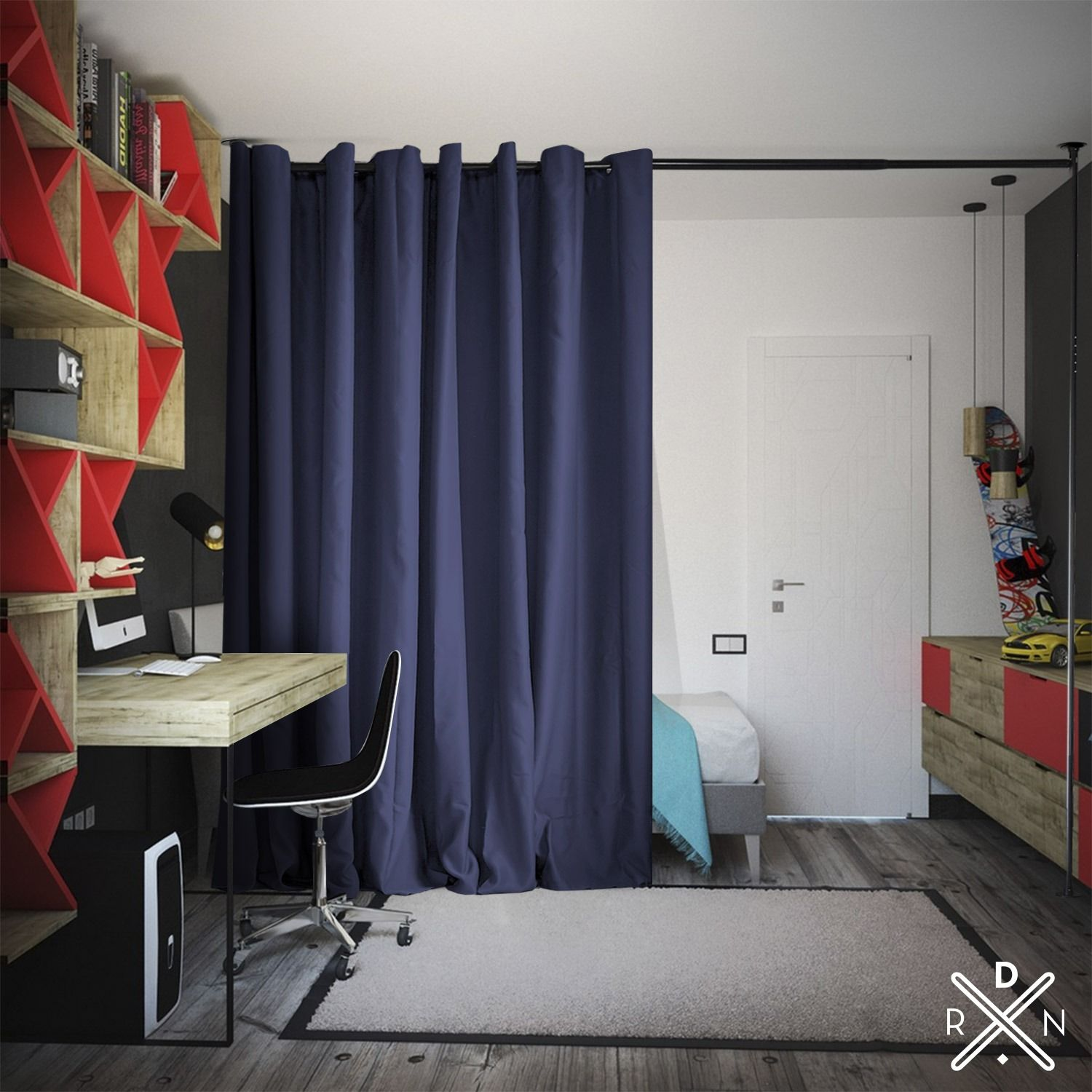 Need Privacy Our Room Divider Kits Are Easy To Set Up Temporary