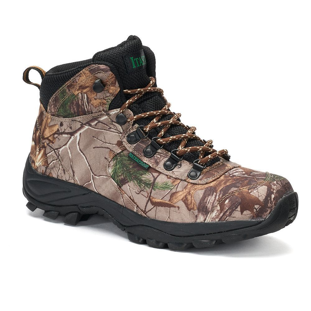 cf9736a8dc5cdc Itasca Dexterity Real Tree Camouflage Men's Waterproof Hiking Boots, Size:  medium (10.5), Other Clrs