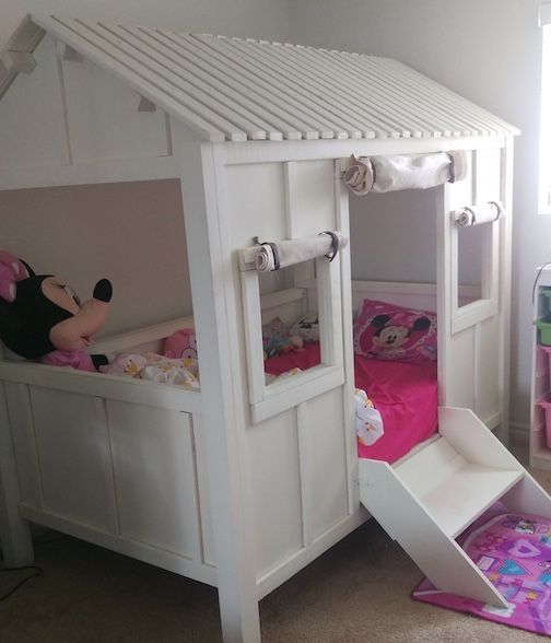 Custom Made Kids Bed Beach House Bed Baby Stuff In