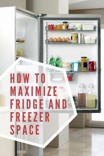 Heres How You Maximize Fridge and Freezer Space | Kitchen Organization Tips | Household Management Hacks | #homeorganization #kitchentips #hometips #homemanagement