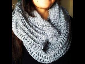 Crochet tour de cou Snood debutant