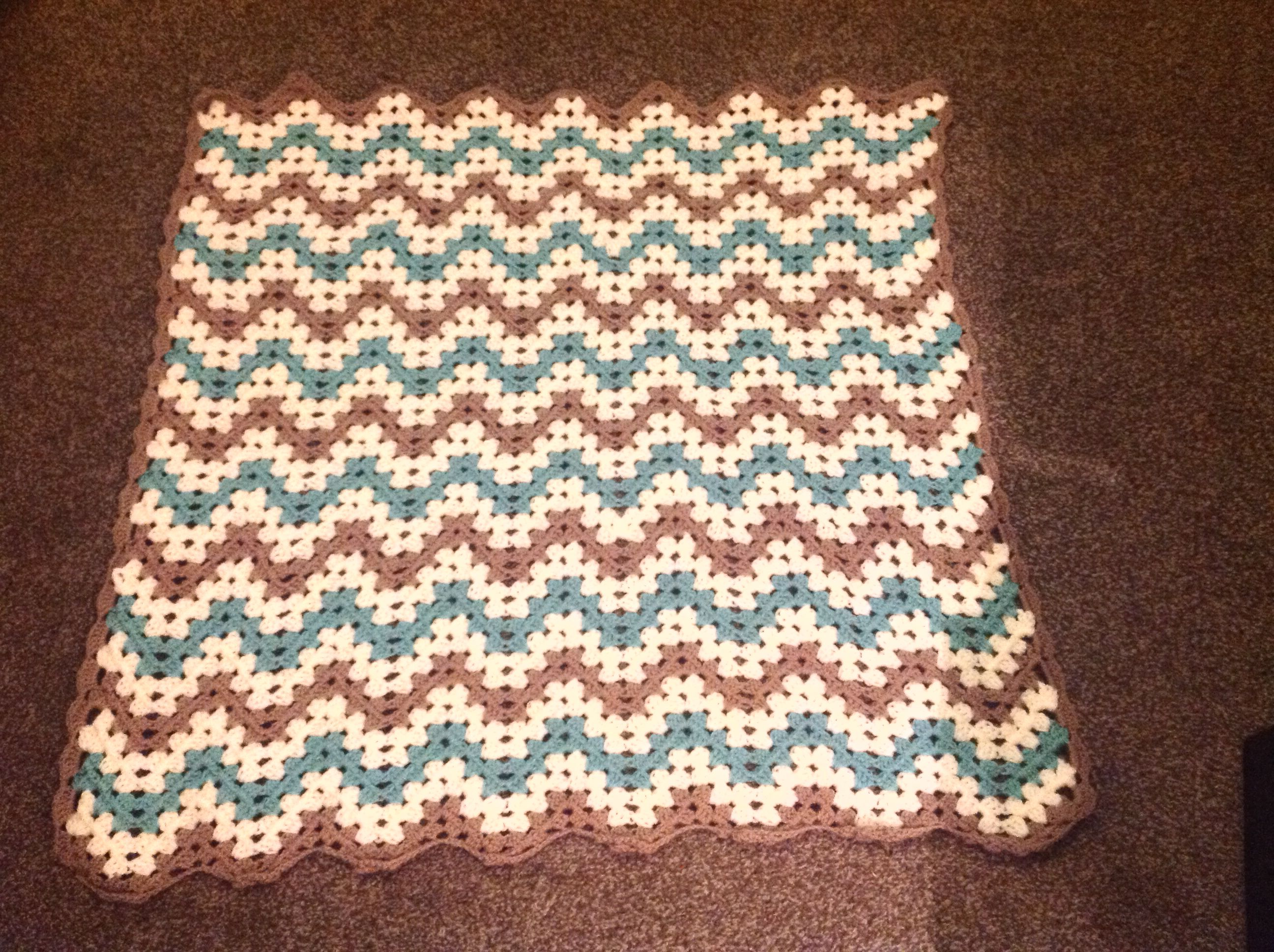 My first baby blanket for Dionne's baby x