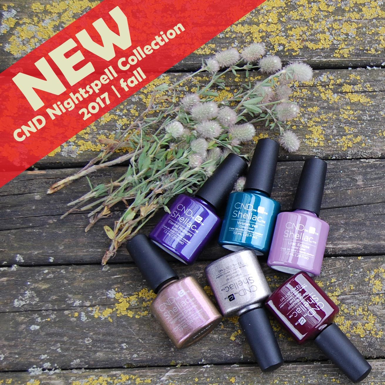 New CND NightSpell Collection 2017   fall Buy online: https://www ...
