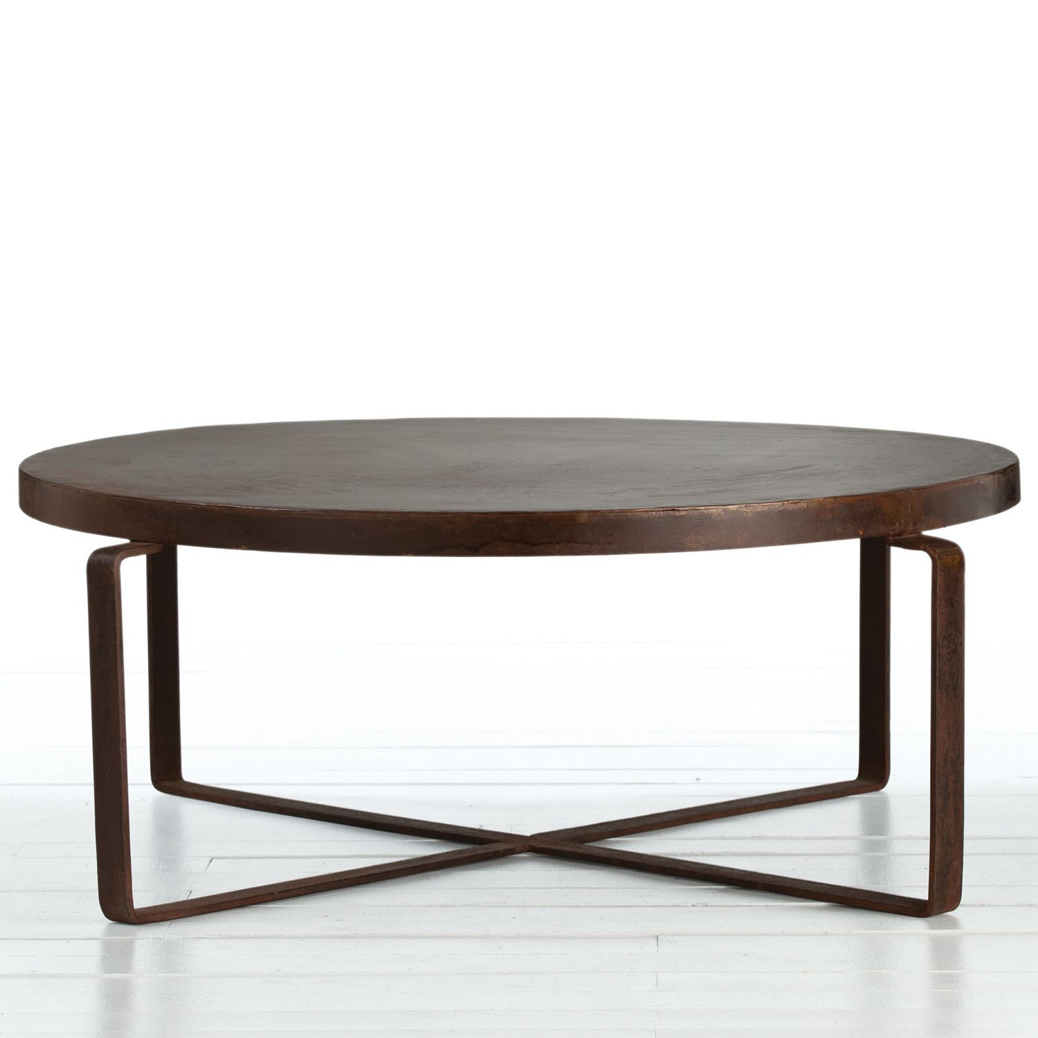 Round Industrial Coffee Table sofa Sets for Living Room Check