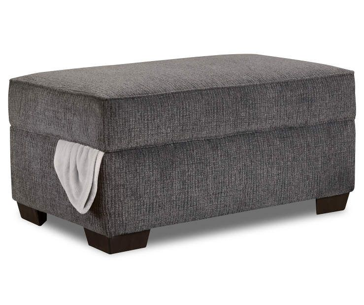 Terrific I Found A Lane Kasan Charcoal Gray Storage Ottoman At Big Ibusinesslaw Wood Chair Design Ideas Ibusinesslaworg