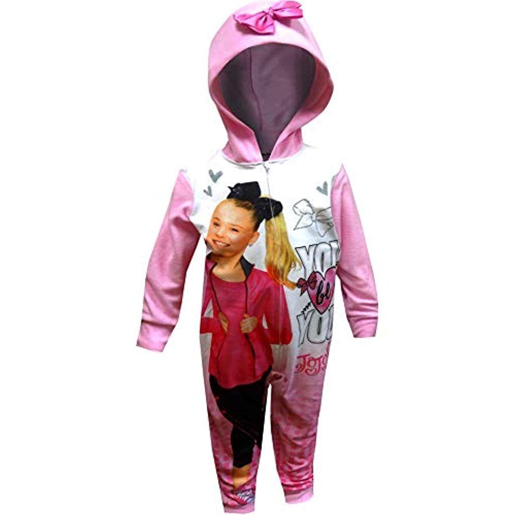 Nickelodeon Jojo Siwa Schlafanzug mit Decke mit Kapuze für