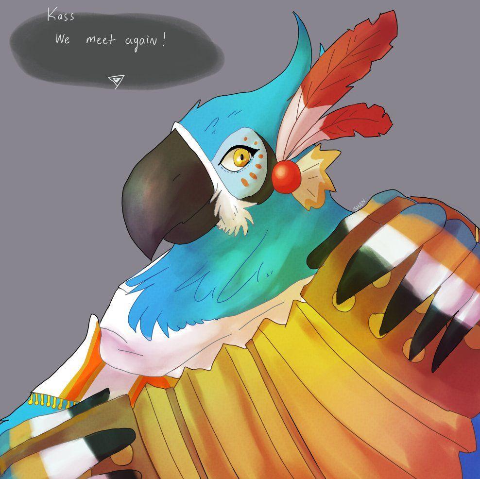 Image result for kass The kingdom of magic, Birdman