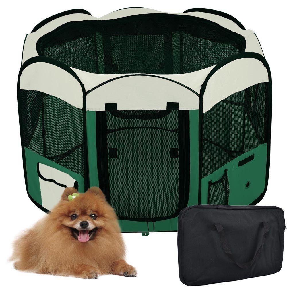 Portable 45' Dia. x 24' Waterproof Octagon Pet Kennels Dog