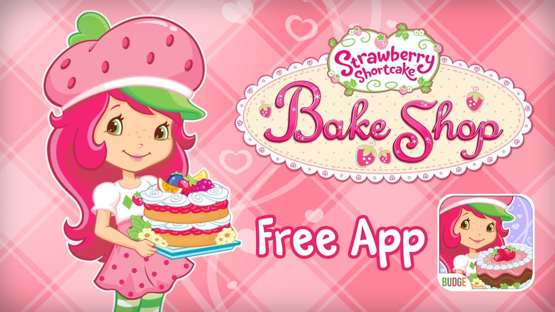 Cook Up Some Fun With Strawberry Shortcake In Her Berry New App Download For Strawberry Shortcake Bake Shop Strawberry Shortcake Strawberry Shortcake Birthday