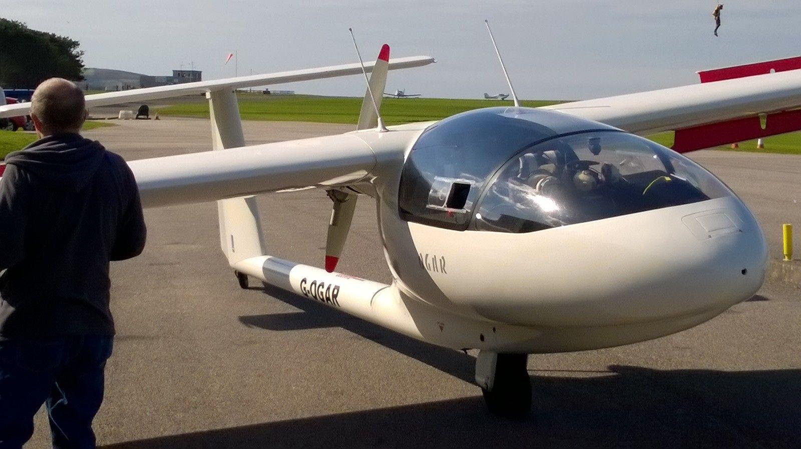 SZD - 45A - OGAR Touring Motor Glider  Hangered at
