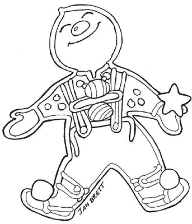 Christmas Coloring Pages By Jan Brett Gingerbread Friends Gingerbread Baby Printable Christmas Coloring Pages
