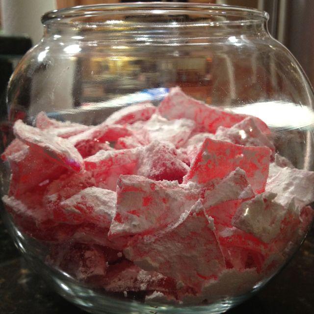 Old Fashioned Rock Candy Powdered Sugar