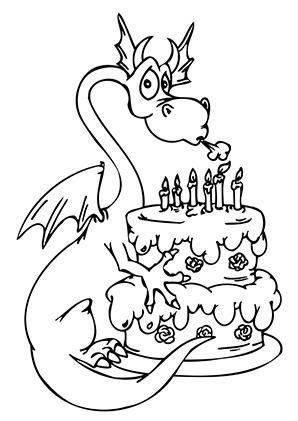 Drachen Ausmalbild Geburtstag Malvorlagen Malvorlagen Zum Ausdrucken Malbuch Vorlagen