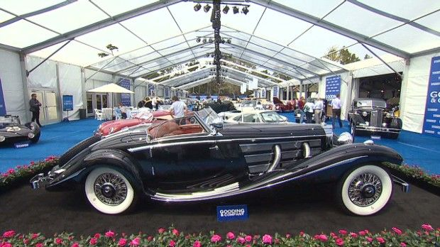 This 1936 Mercedes Benz 540k Special Roadster Sold For 11 7 Million