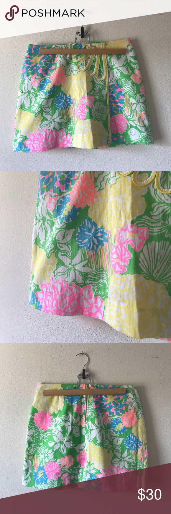 Mini Lilly Skort Mini Colorful Like New Skort by Lilly Lilly Pulitzer Skirts Mini