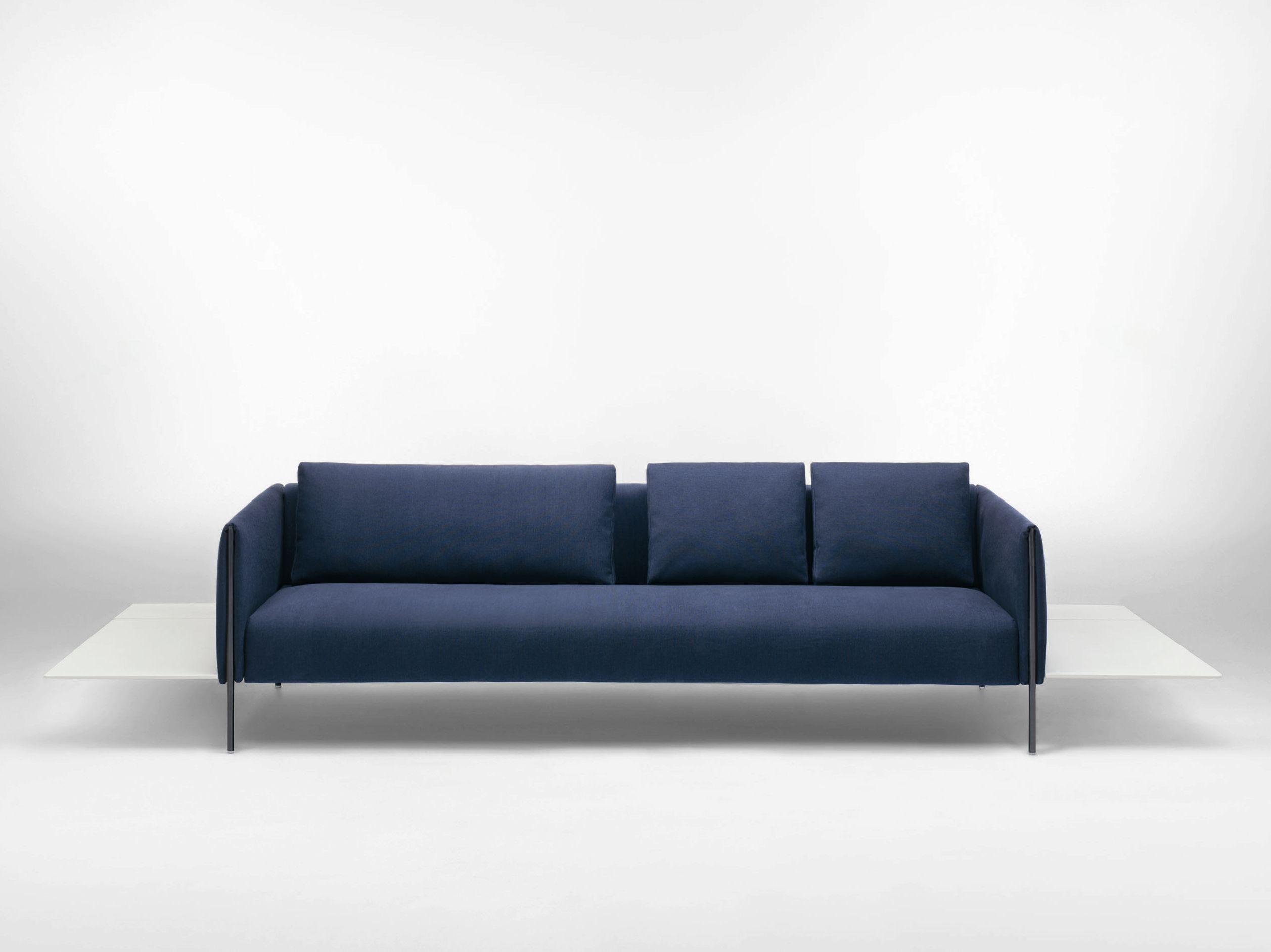 3 seater sofa PILLAR Paola Lenti Minimalist Design