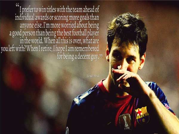 Lionel Messi Quote, Life Quote, Funny Quote, Best Quote